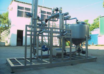 Diseño y fabricación de equipos de procesos lácteos
