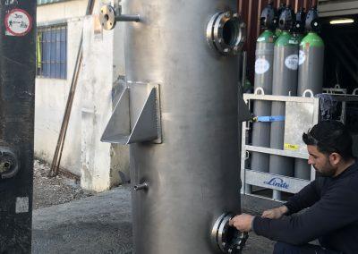 Secador de aceite al vacío